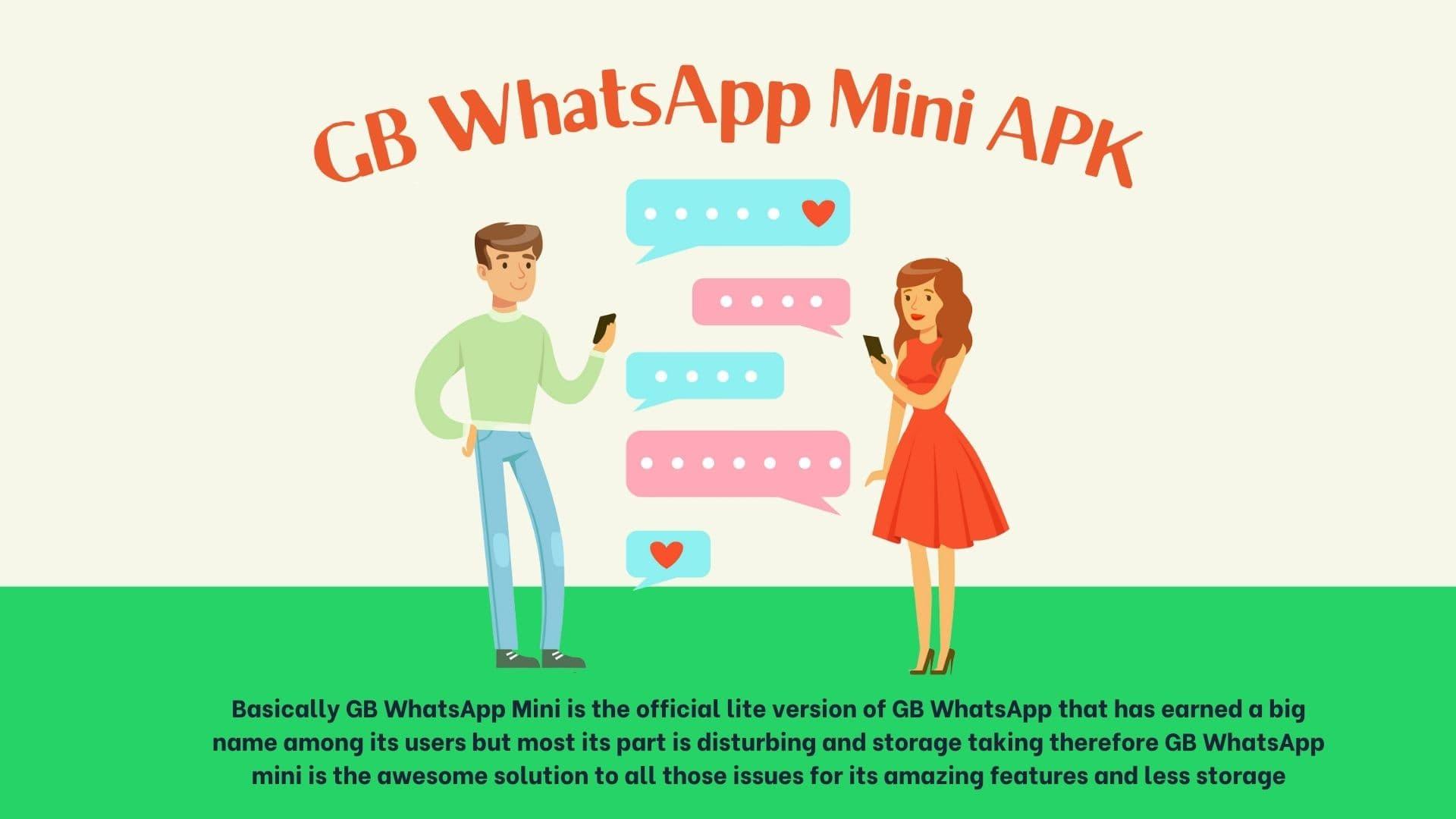 GB WhatsApp Mini APK