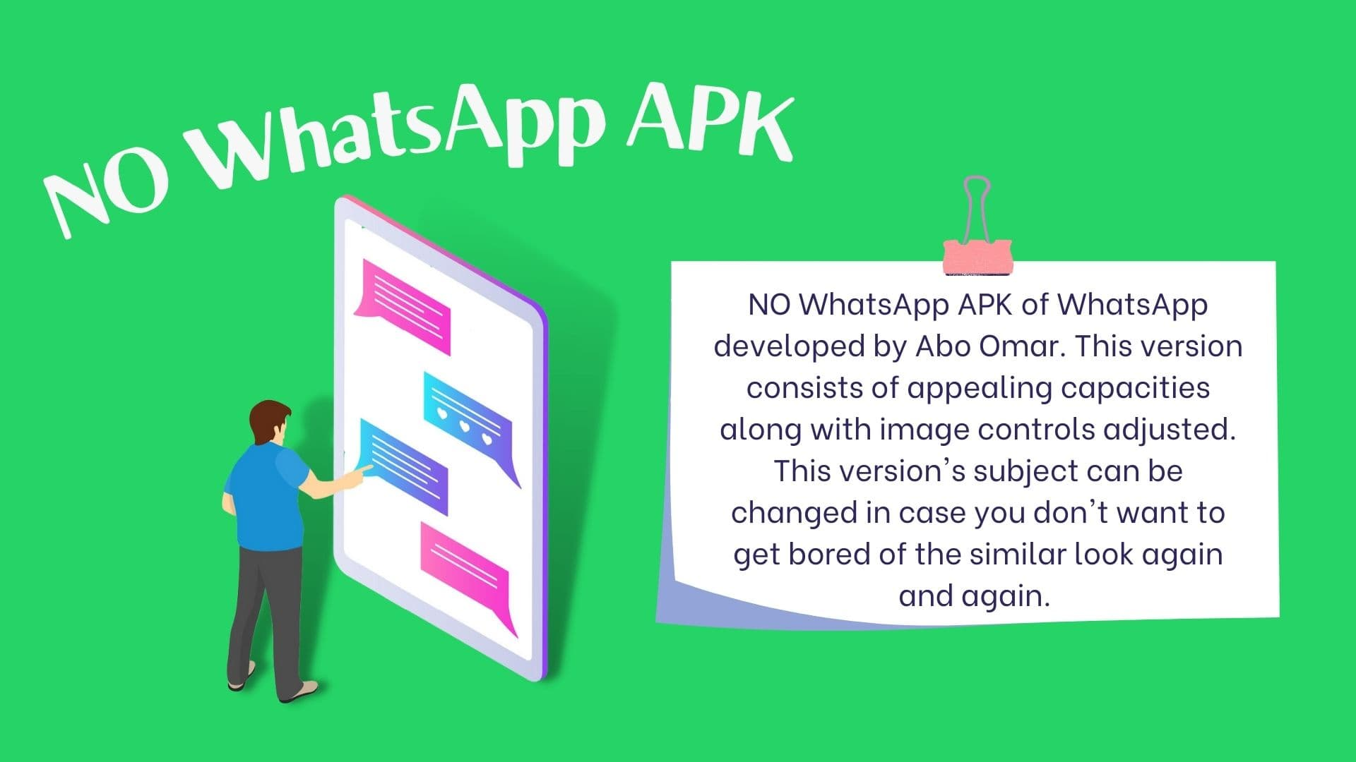 NO WhatsApp APK